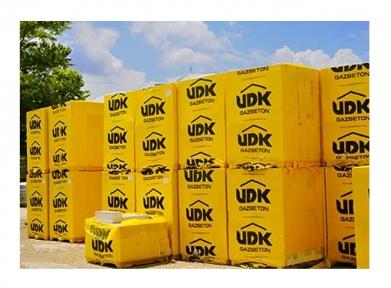Газобетон UDK 100*200*600 (паллета 1,8 м3 -150 штук)